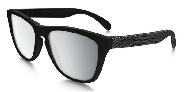 Oakley OO 9013 Frogskins Black / Chrome Iridium 9013-78