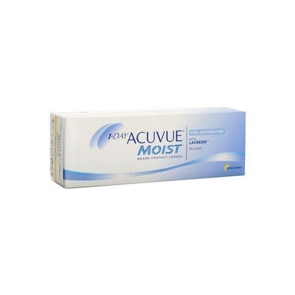 1-Day Acuvue Moist for Astigmatism 30szt. + GRATIS PLECAK