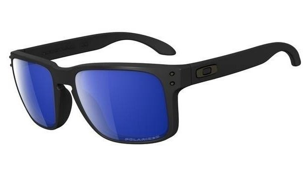 Oakley HOLBROOK. Matte Black/Ice Iridium Polarized OO9102-52