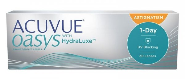 Acuvue Oasys 1 Day for Astigmatism  30szt. -3,00/-2,25/080