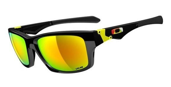 Oakley JUPITER SQUARED VALENTINO ROSSI Polished Black/Fire Iridium OO9135-11