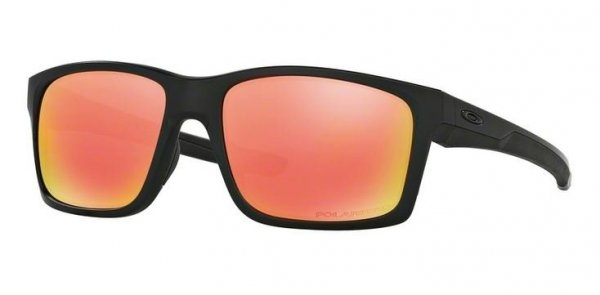 Oakley MAINLINK. Matte Black/Ruby Iridium Polarized OO9264-07