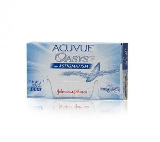 Acuvue Oasys for Astigmatism 1szt. +0,00/-0,75/080