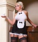 Kostium pokojówki S/3035 Luxe Waitress Andalea WYSYŁKA 24H