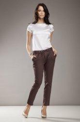 Spodnie Evie Cygaretki sd01 mocca