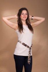 Bluzka Lucinda 3980 beżowa