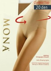 Rajstopy Mona Control Top 20