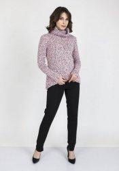 Sweter MKM Nicola SWE 103 Różowy