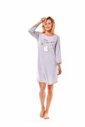 Koszula nocna Henderson Mimi 36161-09X Szara