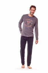Piżama męska Henderson Flame 36202-90X Grafitowa