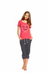 Piżama damska Henderson Tayla 36809-30X Różowa