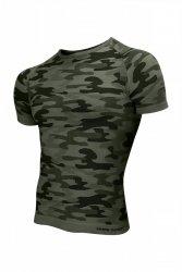 Koszulka męska Thermo Active Military Style krótki rękaw khaki Sesto Senso WYSYŁKA 24H