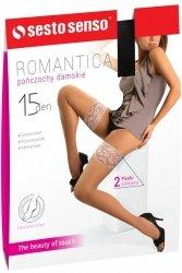 Pończochy Romantica 15 DEN Sesto Senso WYSYŁKA 24H