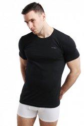 Koszulka męska Rneck czarna Pierre Cardin WYSYŁKA 24H