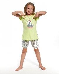 Piżama dziewczęca Cornette Kids Girl 787/57 I See You kr/r