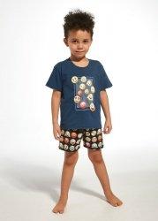 Piżama chłopięca Cornette Young Boy 790/76 Emoticon kr/r 134-164