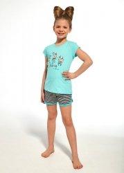 Piżama dziewczęca Cornette Kids Girl 247/66 Zebra kr/r 86-128