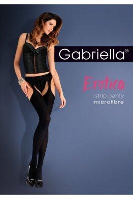 Gabriella erotica 638 strip panty micro nero