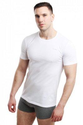 Koszulka męska Rneck biała Pierre Cardin
