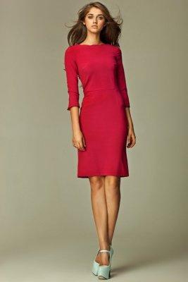 Sukienka Veronique s30 bordowa
