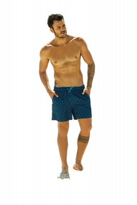 Szorty kąpielowe Henderson Hunch 37834-59X Granatowe