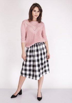Sweter damski MKM Penny SWE 041 Pudrowy róż
