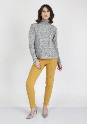 Sweter damski MKM Estelle SWE 121 Szary