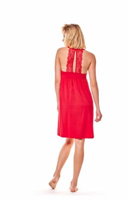 Koszula nocna Henderson Ladies Maggie 36159-33X Czerwona