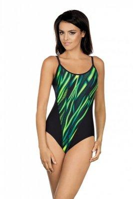 Kostium kąpielowy Lorin LO 22-7155 Zielono-Czarny