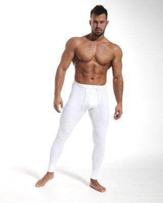 Kalesony męskie Cornette Authentic Białe