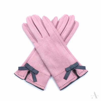 Rękawiczki damskie Art of Polo St. Louis Różowe