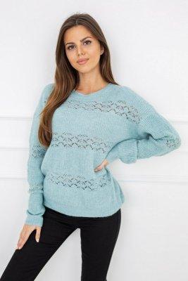 Sweter damski Vittoria Ventini Shannon Turquoise G2569