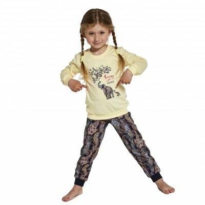 Piżama dziewczęca Cornette 592/133 Elephants