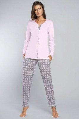 Piżama damska Italian Fashion Gizela dł.r.dł.sp.