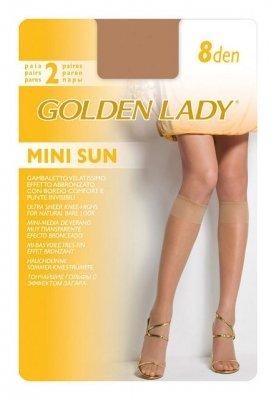 Podkolanówki Golden Lady Mini Sun 8 den A'2