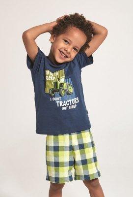 Piżama chłopięca Cornette Kids Boy 789/79 Tractor  86-128