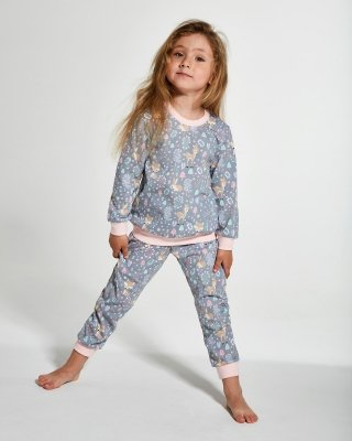 Piżama dziewczęca Cornette Kids Girl 032/112 Roe 3 86-128