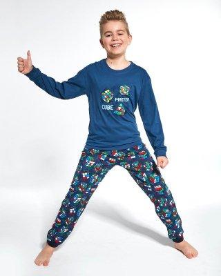 Piżama chłopięca Cornette Kids Boy 593/102 Cube Master 86-128