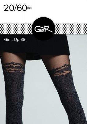 Rajstopy damskie Gatta Girl-Up wz.38 20/60 den