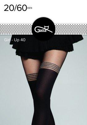 Rajstopy damskie Gatta Girl-Up wz.40 20/60 den