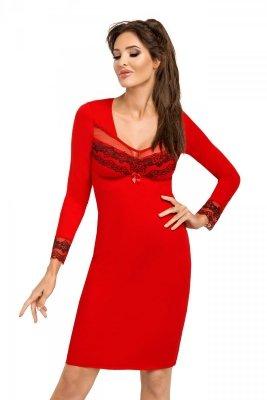 Koszula nocna Jasmine II czerwona Donna