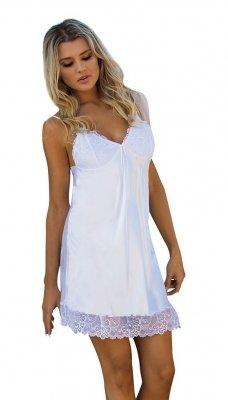 Koszula nocna Karmen 2 biała Dkaren
