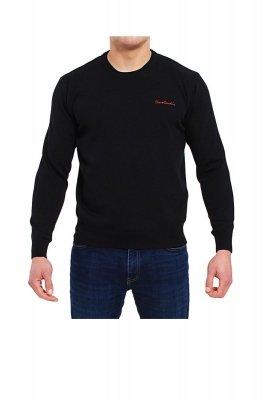 Sweter R-Napis czarny Pierre Cardin