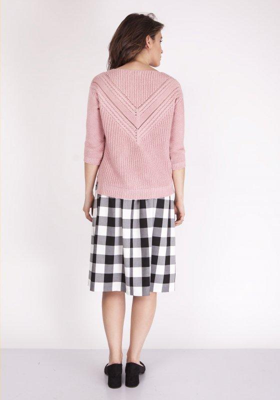 Sweter MKM Penny SWE 041 Pudrowy róż