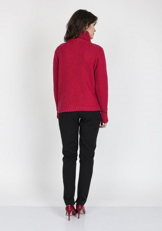 Sweter MKM Estelle SWE 121 Malinowy