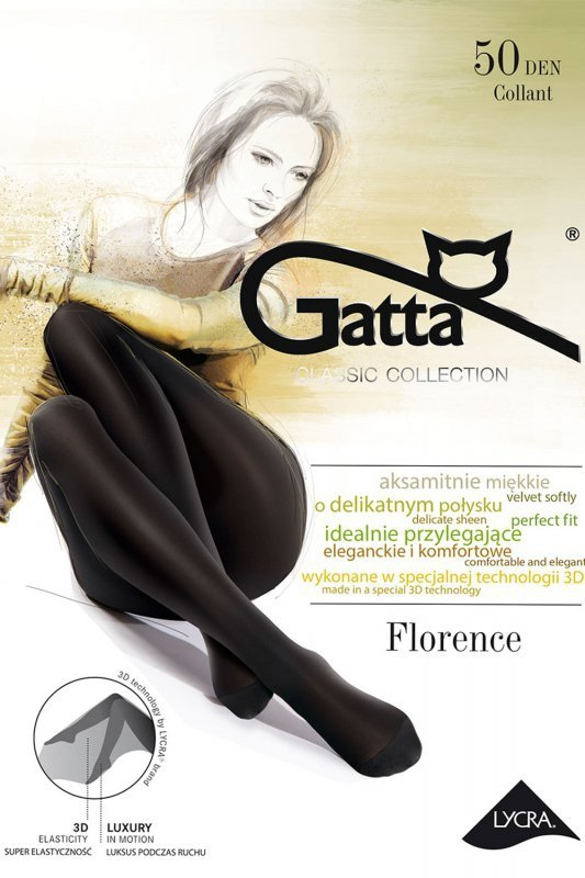 Rajstopy Gatta FLorence 50