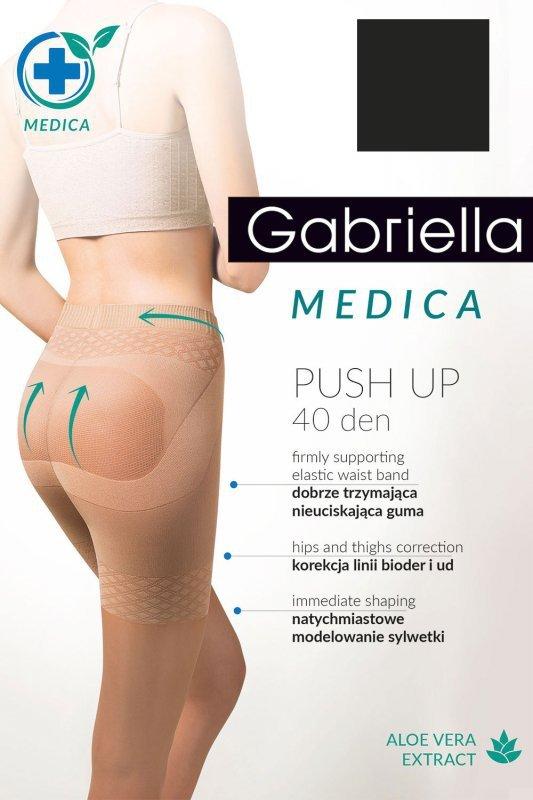Rajstopy Gabriella Medica Push-up 40 Den Code 128
