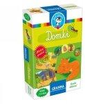 Granna, gra i puzzle 2 elem., domki zwierzątek
