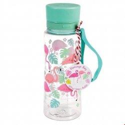 Rex, butelka na wodę, flamingi, 600 ml,
