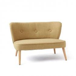 Kids Concept, sofa dla dzieci, żółto-beżowa